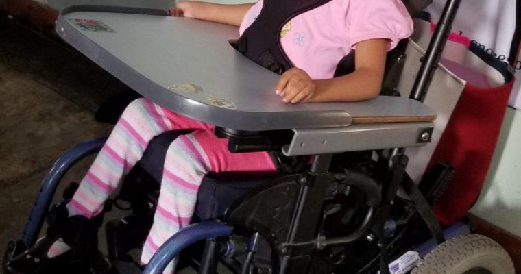 Yarsi gets a wheelchair